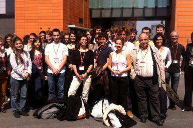 Une délégation de l'ENSTBB à la découverte du Biolaunch