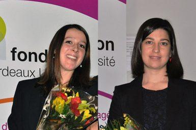 2 lauréates pour l'édition 2013 du prix Emile AUBERTIN