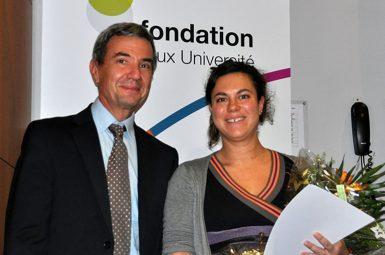 Angie NITHART, lauréate 2014 du prix de médecine Émile AUBERTIN