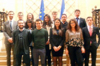 Les étudiants de Sciences Po Bordeaux à la découverte du Conseil d'État