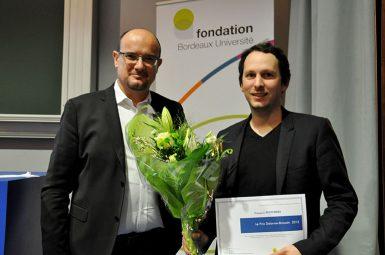 Le docteur François PETITPIERRE, lauréat du prix Delorme – Broussin 2015