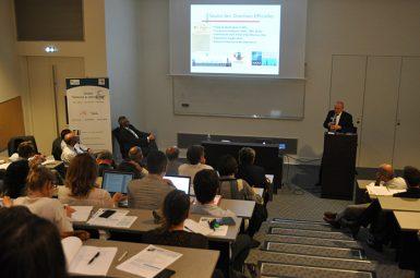 Conférence sur «l'Impact des opérations internationales sur les pensées stratégiques alliées»