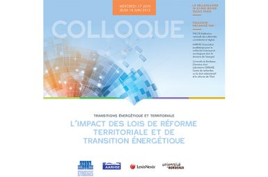 Participation d'un doctorant à un colloque sur les PPP à Paris