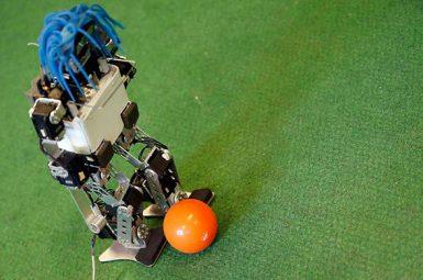 Fan Zone de Bordeaux : les robots de l'université sur le terrain