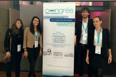 10 élèves ingénieurs de l'ENSTBB ont participé à deux congrès internationaux
