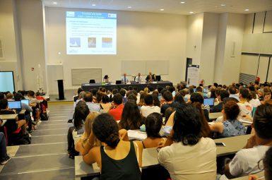 Un public nombreux pour la conférence «L'espace, champ d'affrontement du futur»