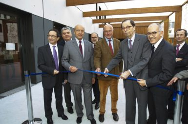 Inauguration de l'IHU liryc