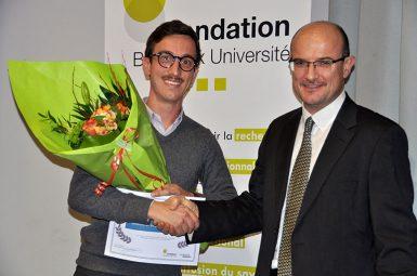 Antoine BIGOURDAN, lauréat du prix Delorme – Broussin 2016