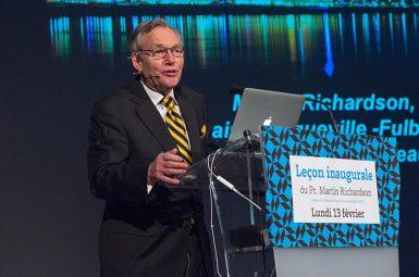 Retour sur la leçon inaugurale du professeur Martin RICHARDSON