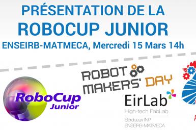 Une Présentation de la Robocup Junior à Bordeaux