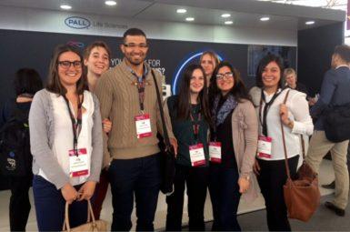 6 élèves-ingénieurs de l'ENSTBB au congrès Bioprocess International European Summit 2017