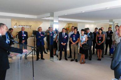La chaire «Défense & Aérospatial» au salon du Bourget pour le CESDA ALUMNI