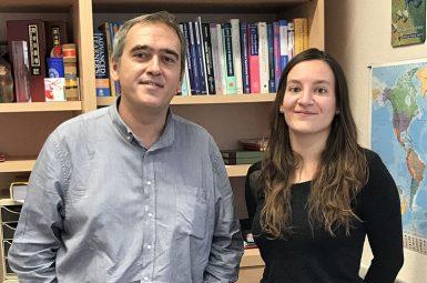 Pierre Nassoy et sa candidate Sophie Larnaudie lauréats de l'appel à projet « bourse post-doctorat »