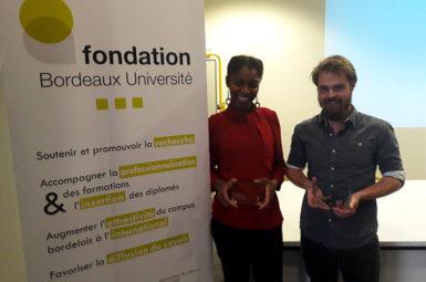 Deux lauréats récompensés pour leur mémoire !