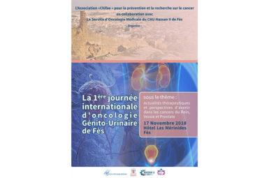 Contribution à la 1ère Journée Internationale d'Oncologie génito-urinaire de Fès