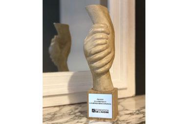 Le Pr. BERNHARD, lauréat des Trophées 2018 de la Fondation de l'Avenir
