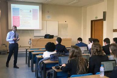 Organisation d'un atelier recrutement auprès des étudiants de Master 2
