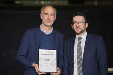 Un award pour les Vendanges du savoir