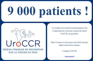 9 000 patients inclus au sein d'UroCCR