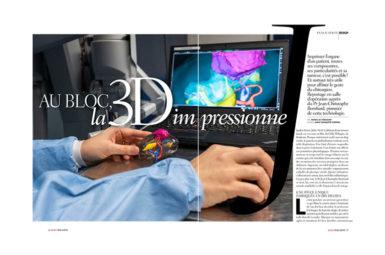 Reportage sur l'impression 3D dans Rose Magazine