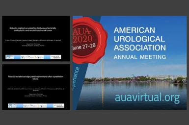 Contribution au congrès américain d'Urologie 2020