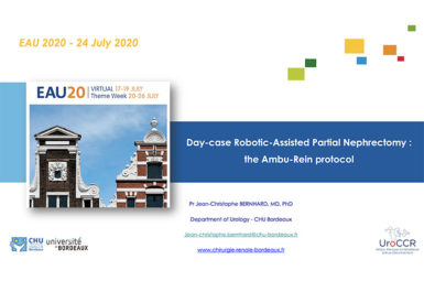 Participation au symposium de l'European Association of Urology (EAU)