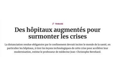 «Des hôpitaux augmentés pour surmonter les crises»