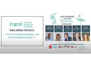 La table-ronde «Crise et transition énergétique…» en vidéo
