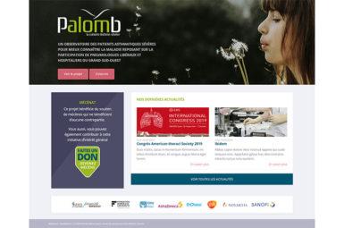 Ouverture du portail Palomb Asthme Sévère!