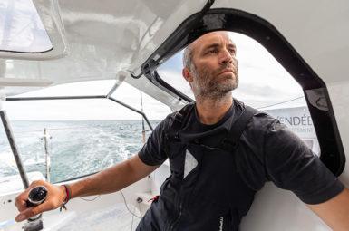 Fabrice Amedeo poursuivra la collecte dans l'Atlantique