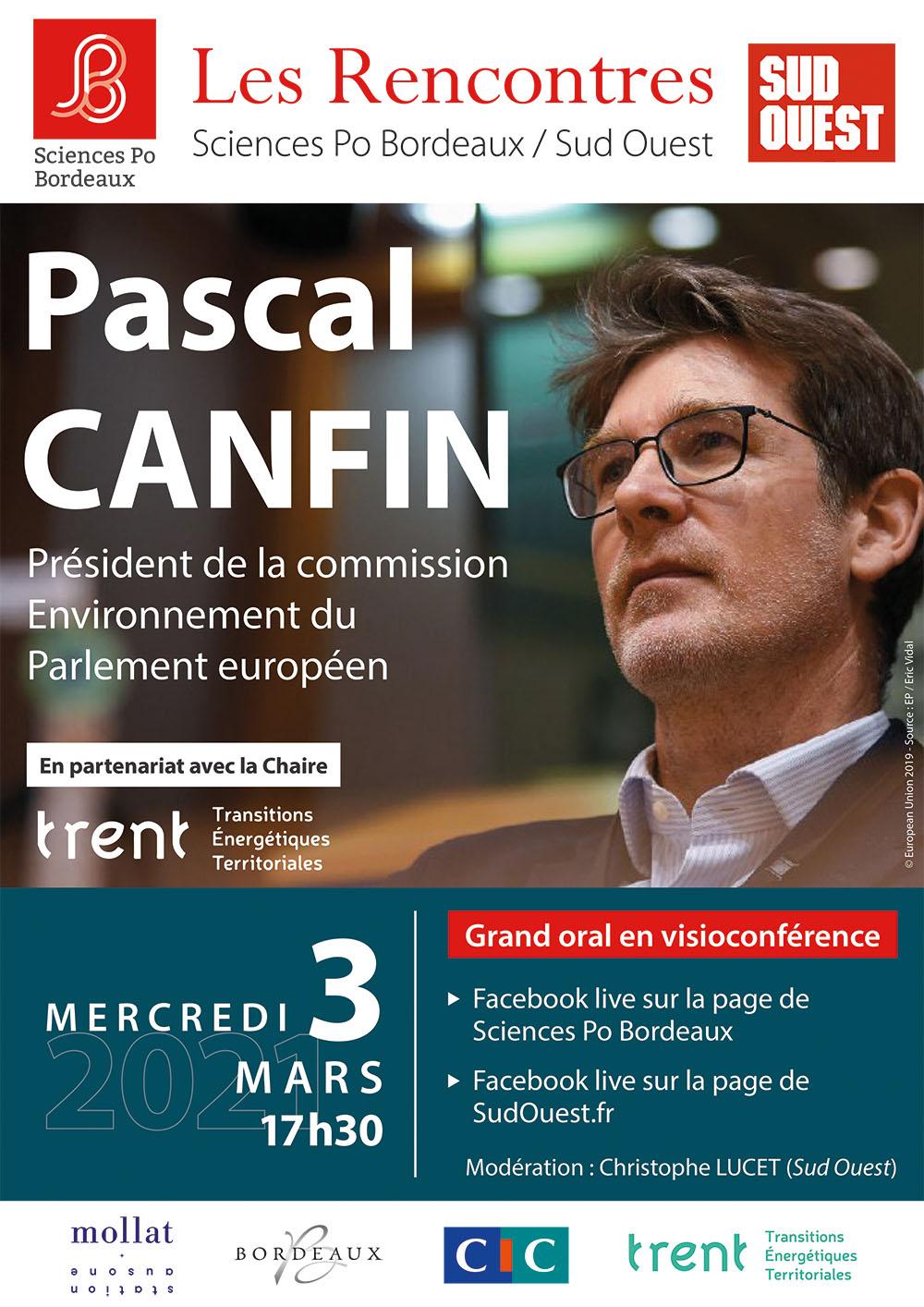 La chaire, partenaire des prochaines « Rencontres Sciences Po Bordeaux / Sud-Ouest »