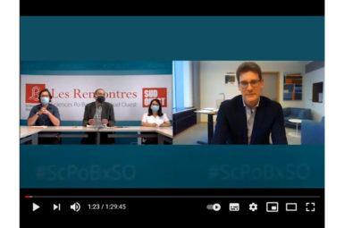 Retour en vidéo sur la Rencontre avec Pascal CANFIN