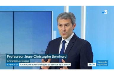 Reportage et émission de France 3 Aquitaine sur la chirurgie robotique