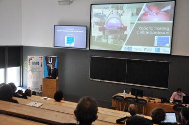 Inauguration du Robotic Training Center Bordeaux