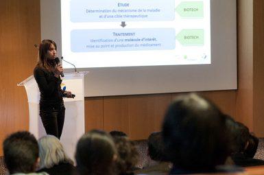 Nouveau succès pour la conférence «Biotechnologies et santé,  de quoi parle-t- on ?»