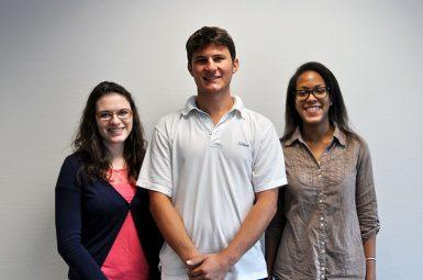 Trois élèves-ingénieurs de l'ENSTBB à la rencontre des  industriels au congrès international «Bioprocess» à Prague