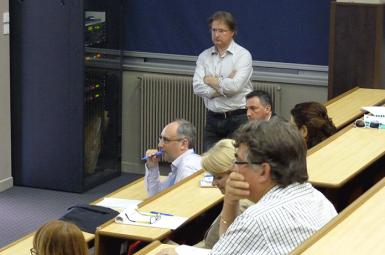Présentation du GRP Lab à Marseille