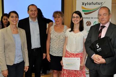 La chaire récompense Lucie CHUPIN pour ses travaux de thèse