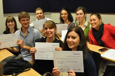 Les prix du concours «Best Business Model»remis lors de la 1èresoirée de l'entrepreneuriat étudiant