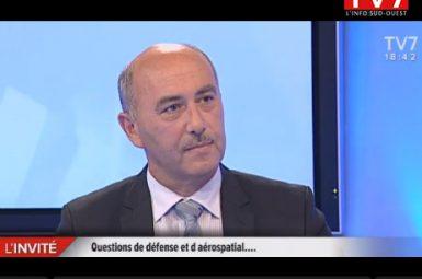 Interview du général Jean-Marc LAURENT, responsable exécutif de la chaire «Défense & Aérospatial»