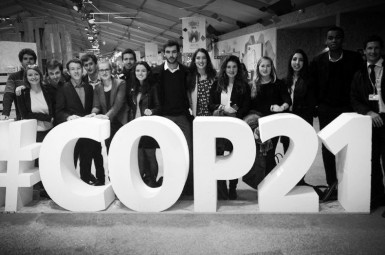 Les étudiants de Sciences Po Bordeaux à la COP21