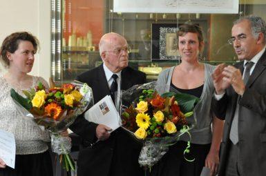 Première remise du prix Emile AUBERTIN par la fondation