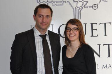 Deux jeunes médecins ont décroché le prix Emile AUBERTIN 2012