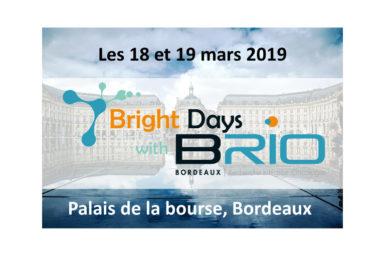 Participation aux Bright Days organisés par le SIRIC BRIO