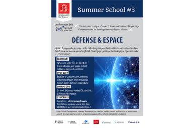 Ecole d'été Défense & Espace 2019