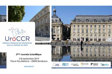 Deuxièmes Journées scientifiques UroCCR, les 5 et 6 septembre