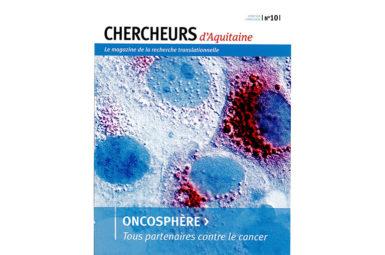 Reportage dans la revue Chercheurs d'Aquitaine