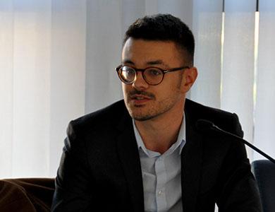 Benjamin JOUVE, doctorant CIFRE à Enedis intégré à la direction des Affaires Publiques, ancien chargé d'étude sur la réception du compteur Linky