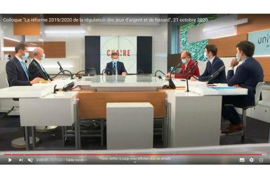 Le colloque sur la réforme disponible en vidéos