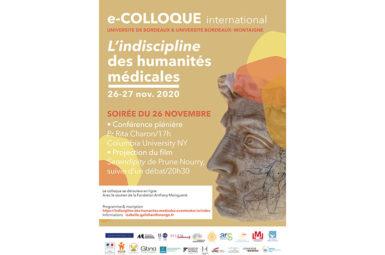 Colloque « L'indiscipline des Humanités médicales », 26 et 27 novembre
